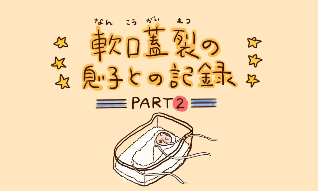 軟口蓋裂の息子との記録 PAART2